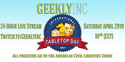 24 hour Geekly Charity Stream
