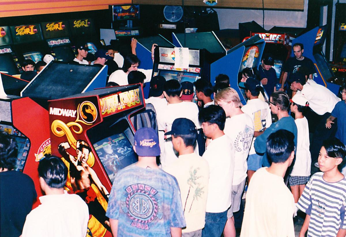 Crowded 90s Arcade