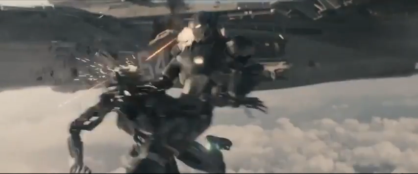 Avengers AoU Helicarrier War Machine