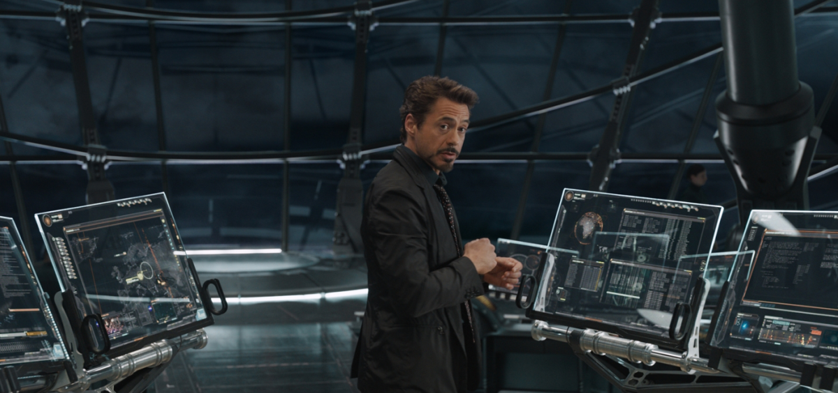 Tony Stark on Helicarrier