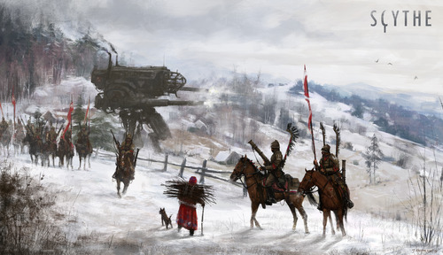 """Jakub Rozalski's art set the tone for the entire game"""