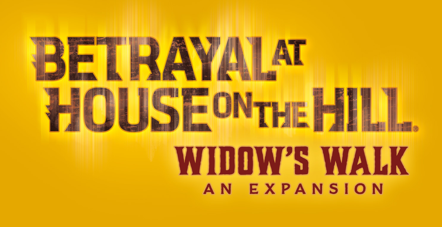 Betrayal at House on the Hill Widow's Walk - Logo