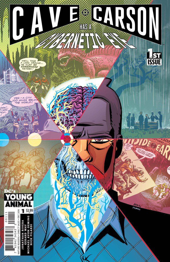 Cave Carson Has A Cybernetic Eye- DC's Young Animal