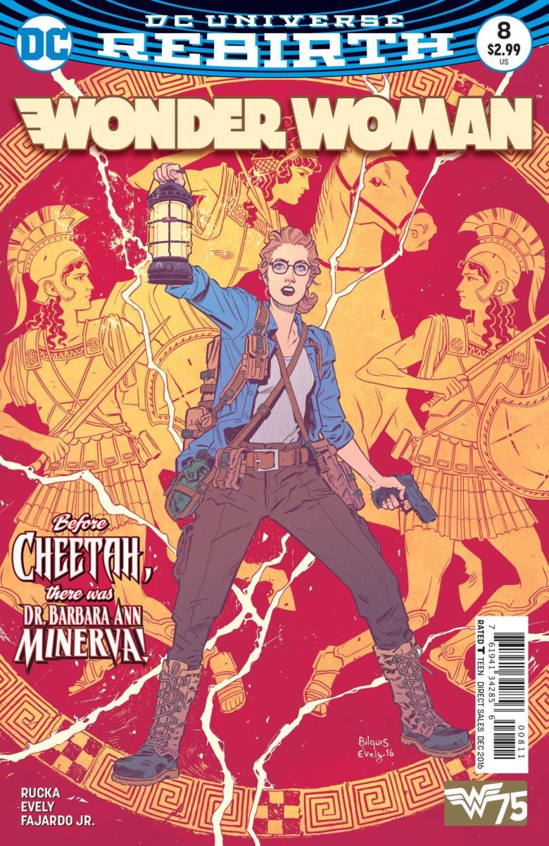 Wonder Woman #8- DC Comics