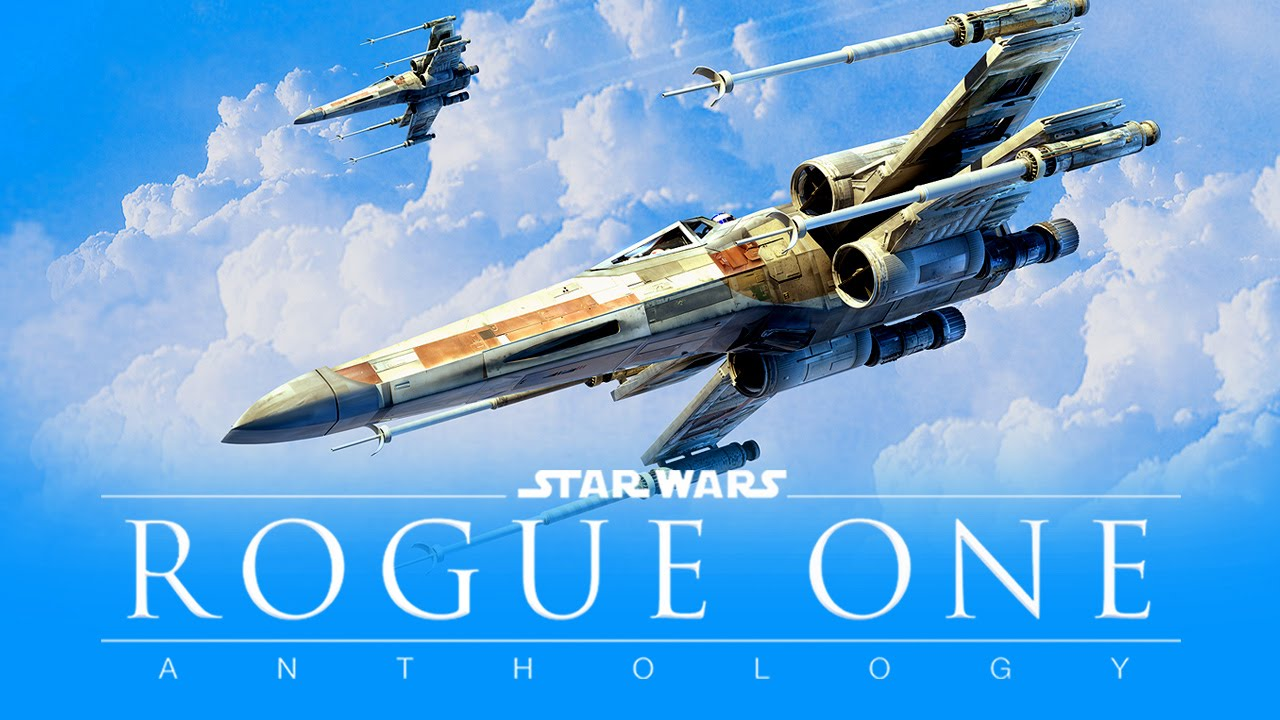 Rogue One Star Wars X-Wings in the Sky