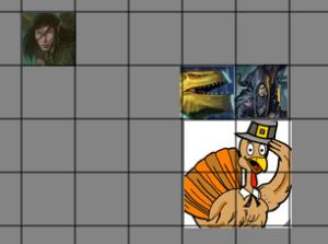 Dungeons and dragons, battle, d20, dungeon tiles, Tableforge, halfling, dragonbron, dwarf, dnd