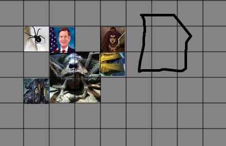 Dungeons and dragons, battle, d20, dungeon tiles, Tabletopforge, halfling, dragonbron, dwarf, dnd, map