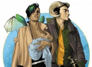 Alana and Marko...it's hard to pull off fierce breastfeeding, but she is killing it!