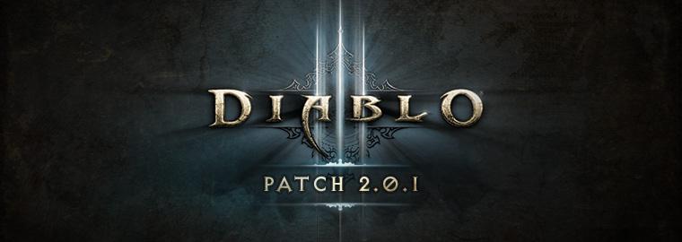 Diablo 3 Patch 2.0.1 Logo