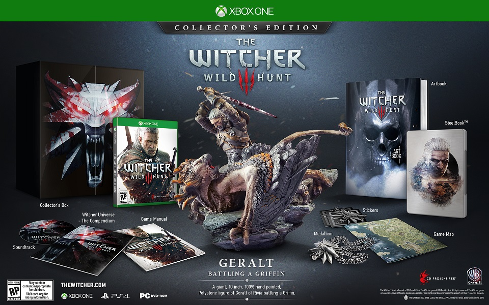 Witcher 3, Witcher 3 Collector's Editoin