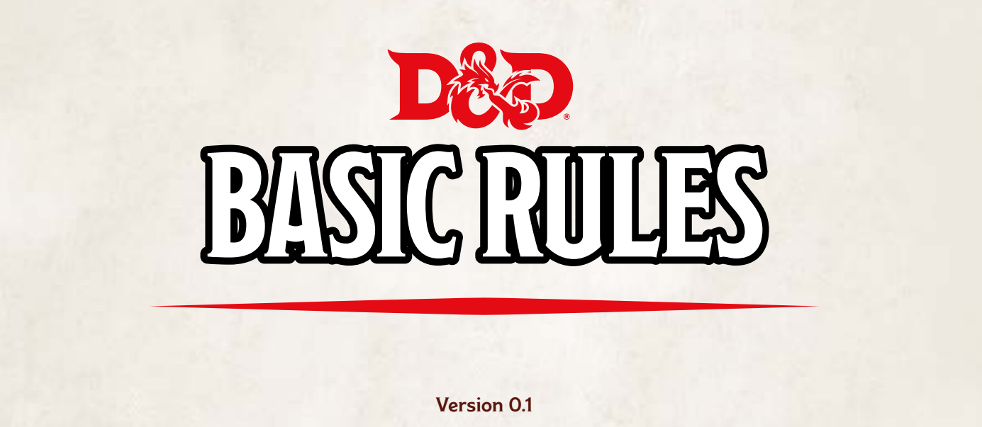 Basic Rules - D&D, starter set, 5th ed