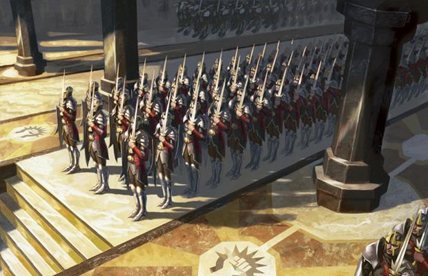 Assemble the Legion art by Eric Deschamps