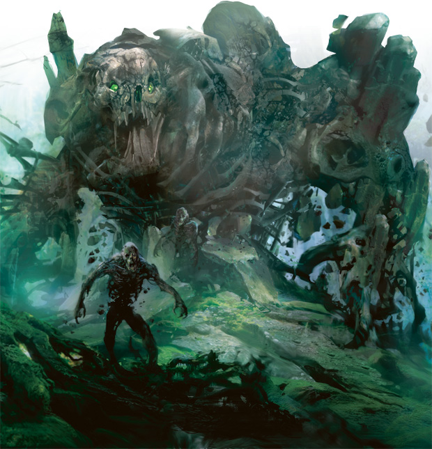 Sepulchral Primordial hits hard, and brings a lot of friends along to the party.