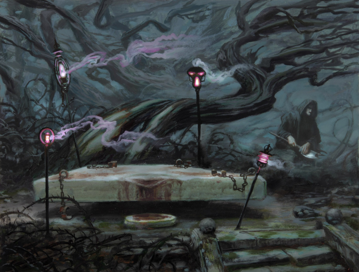 Altar's Reap art by Donato Giancola