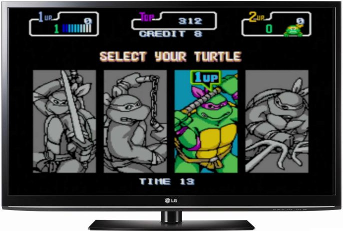 Turtles on a LCD