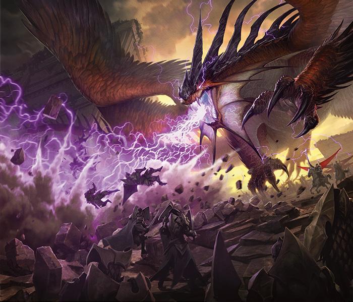 Dragons of Tarkir promo art by Jason Chan