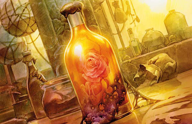 Elixir of Immortality art by Zoltan Boros and Gabor Szikszai