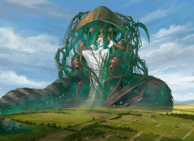 Karametra, God of Harvests art by Eric Deschamps
