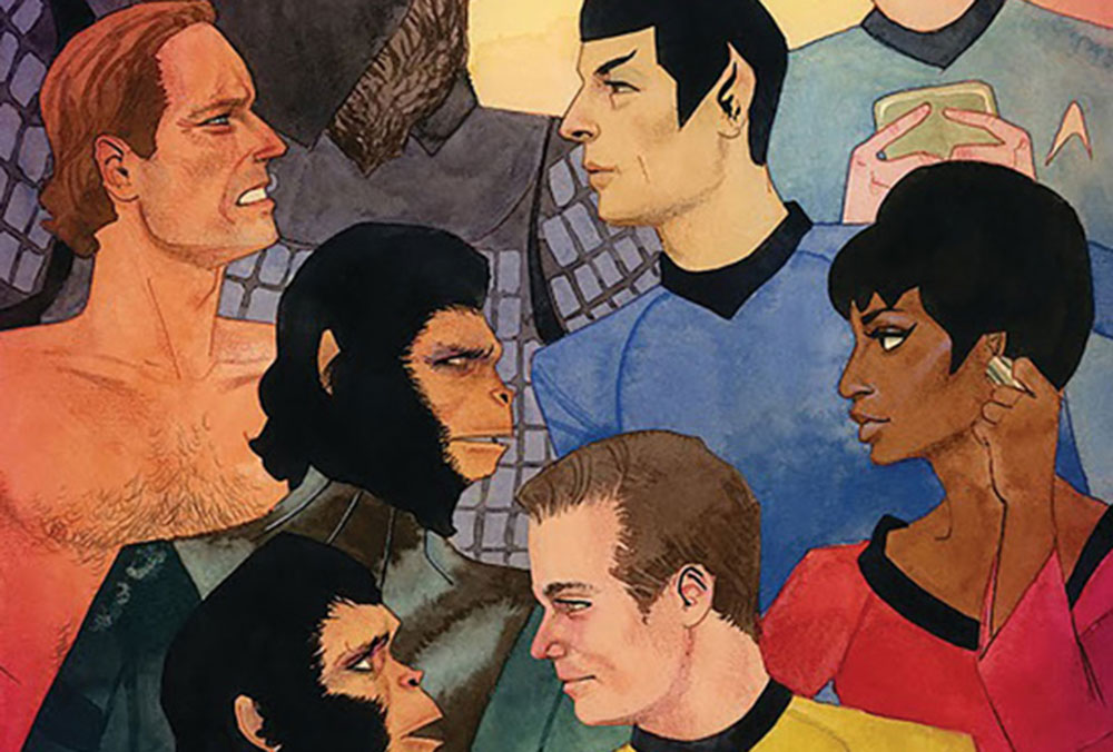 Star Trek / Planet of the Apes: The Primate Directive Issue 3