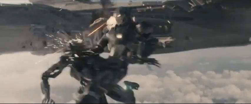 Avengers AoU Helicarrier War Machine