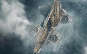 Shield Helicarrier Takeoff