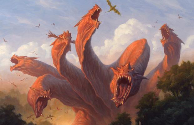 Kalonian Hydra art by Chris Rahn