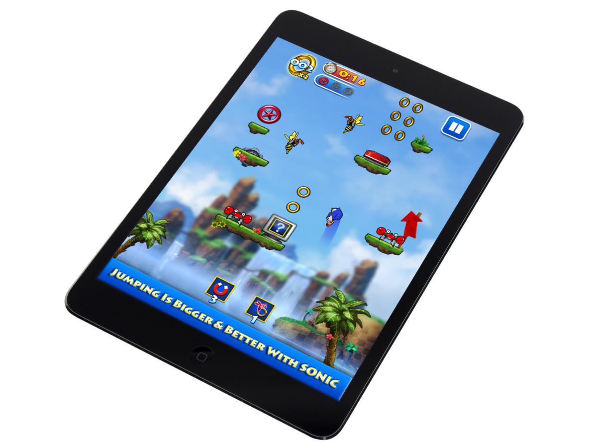 Sonic Jump iPad