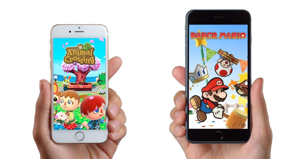 Nintendo on iPhone