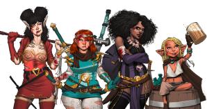 Rat Queens Characters