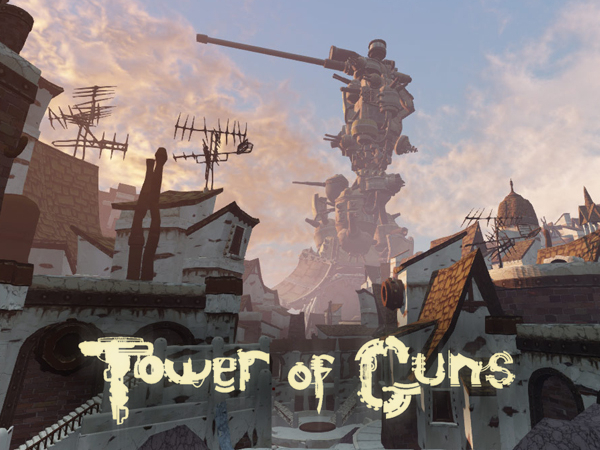 Holy cow, is that a tower...a tower of guns?!