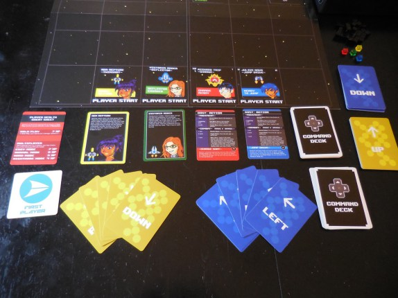 Character and Command Cards
