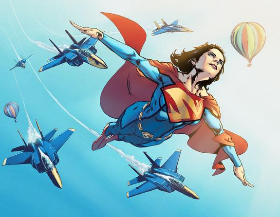 Superwoman #1- On Sale June 1st (Not Final Cover)