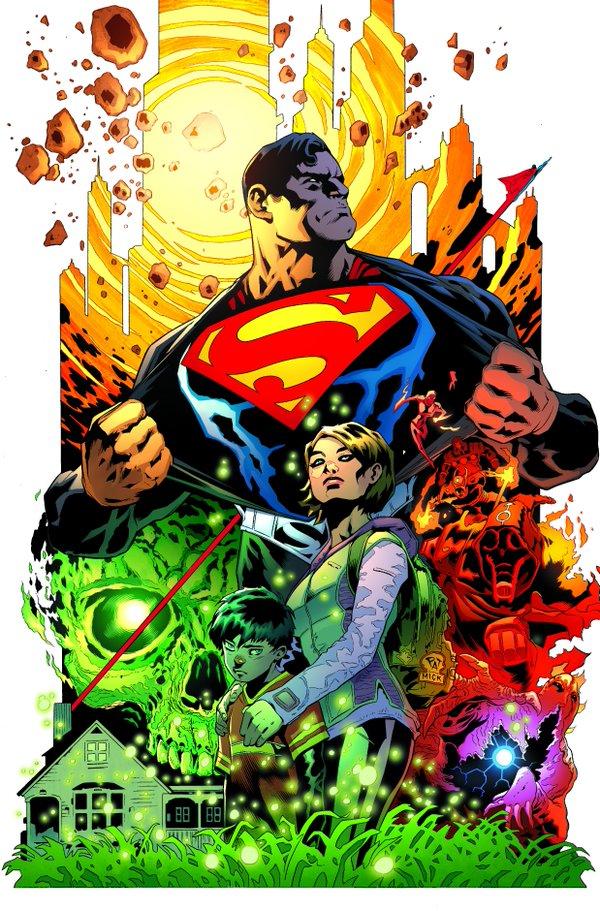 Superman #1- On Sale June 15th