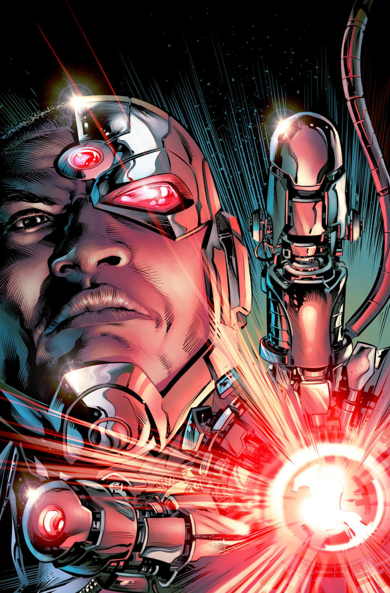 Cyborg #1- On Sale August 17th