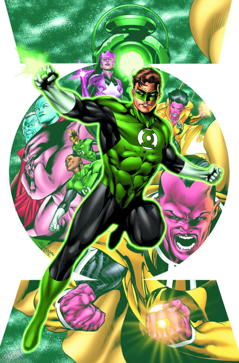 Hal Jordan And The Green Lantern Corps #1- On Sale July 27th