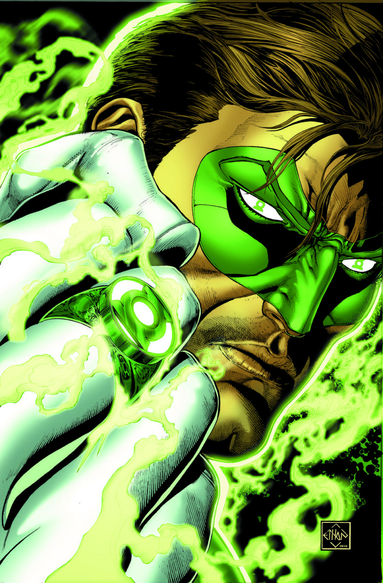 Hal Jordan And The Green Lantern Corps: Rebirth- On Sale July 13th