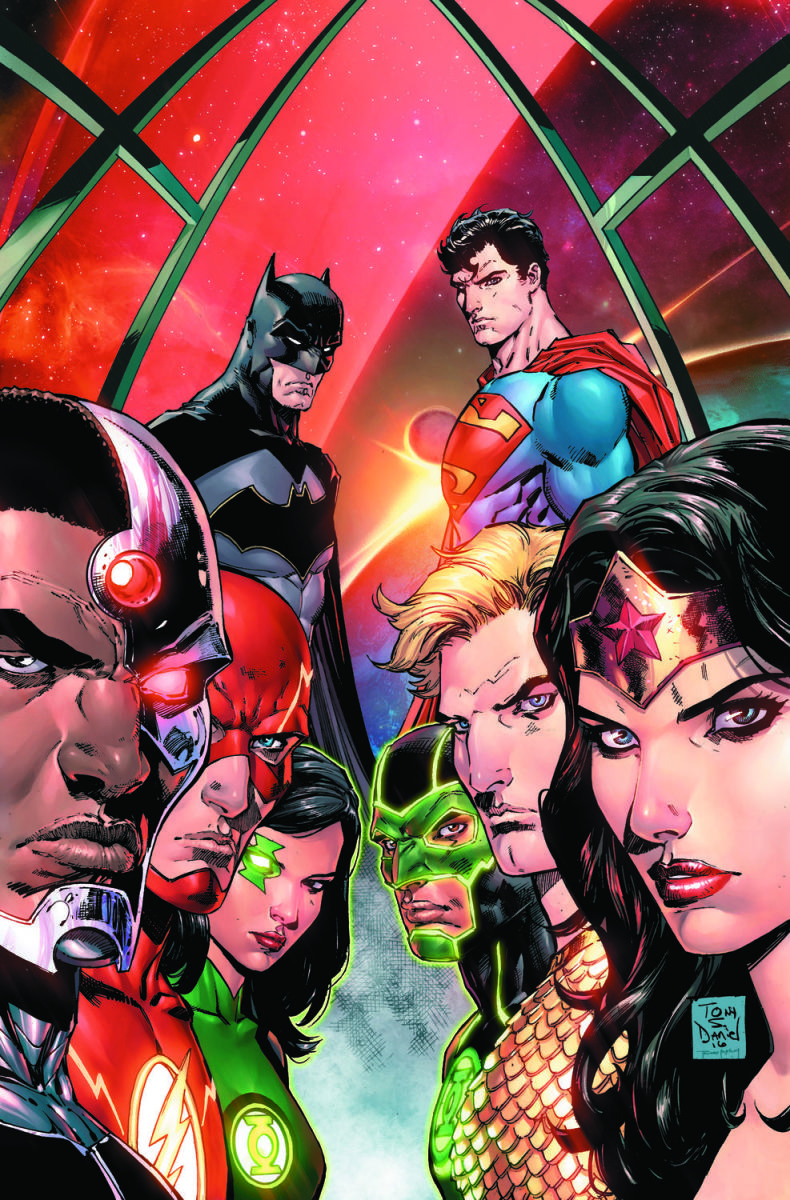 Justice League Rebirth: On Sale July 6th