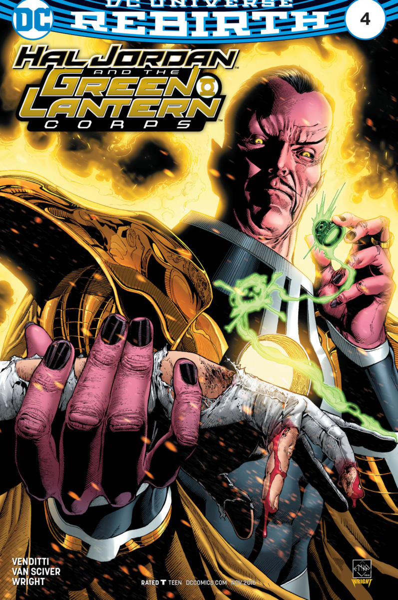 Hal Jordan and the Green Lantern Corps #4- DC Comics