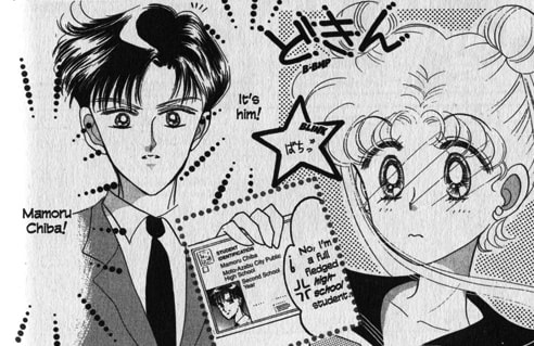 Sailor Moon and Some Guy