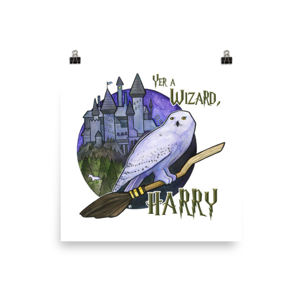 Yer a Wizard Harry Season 1 Photo paper poster