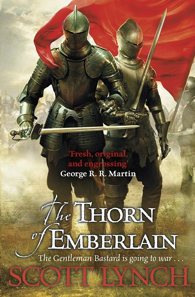 The Thorn of Emberlain - First Edition.