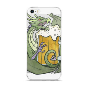 Drunks and Dragons iPhone 5/5s/Se, 6/6s, 6/6s Plus Case