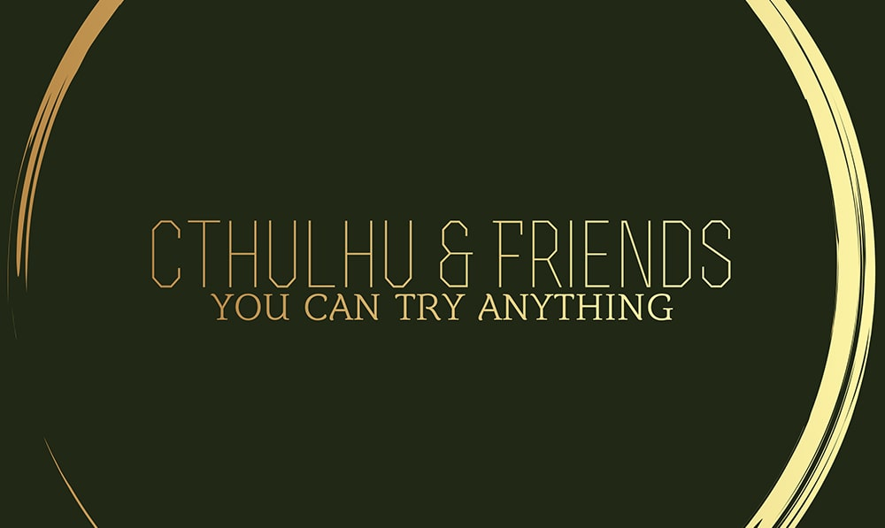 Banner for the Cthulhu & Friends Podcast
